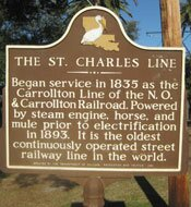 St Charles Steetcar Route New Orleans